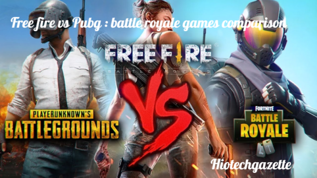 Free Fire vs PUBG: Key Differences