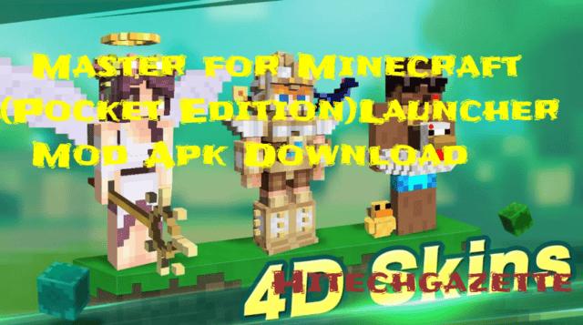 Master for Minecraft (Pocket Edition) mod apk download