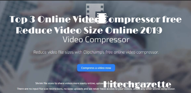 Best Video Compressor to reduce large video online