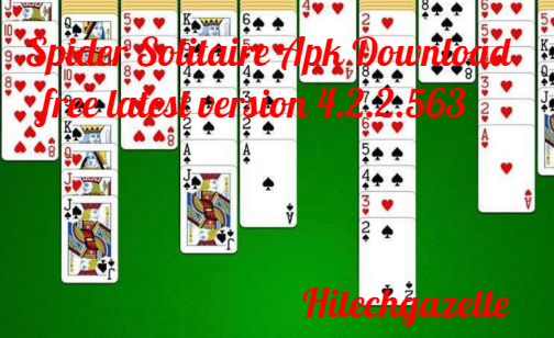 download and install the Spider Solitaire Apk on Android