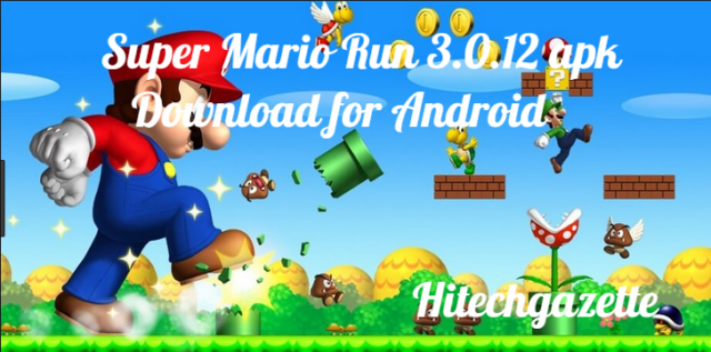 How to download and install the Super Mario Apk On Android