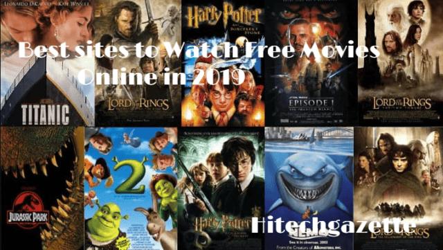Best sites to watch movies online in 2019