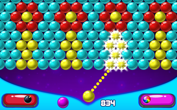 Bubble Shooter 2 latest mod version download and install on Android