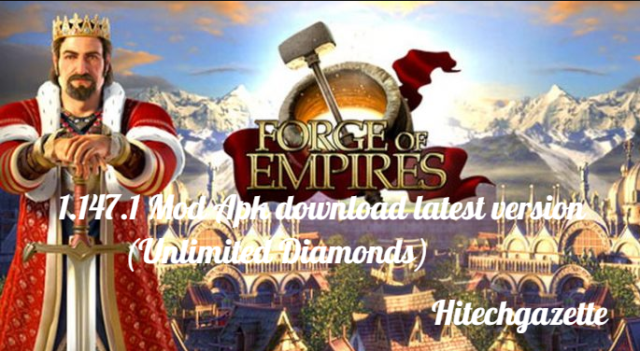 Forge Of Empires Mod Apk: Proceed from the Stone Age to Modern era