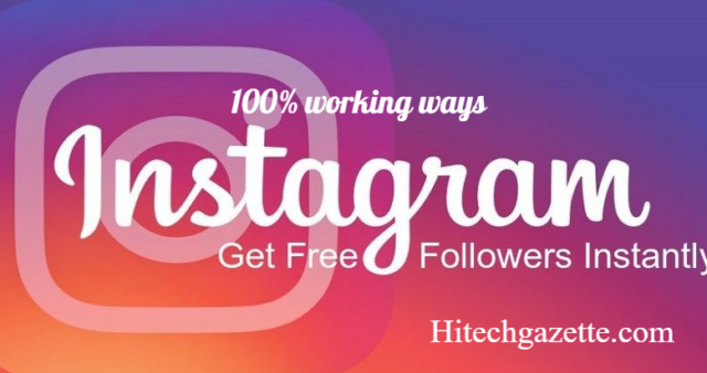 How to Get Free Instagram Followers in 2019: Best and 100% working