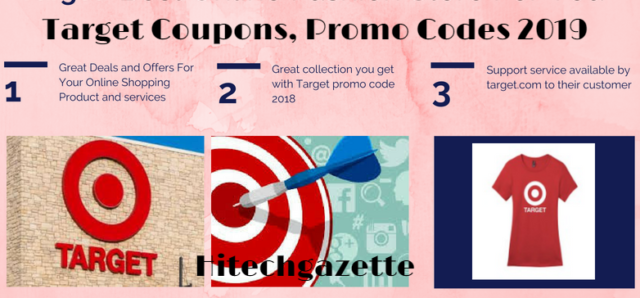 Target Coupon Code, Promo codes, and best deals April 2019