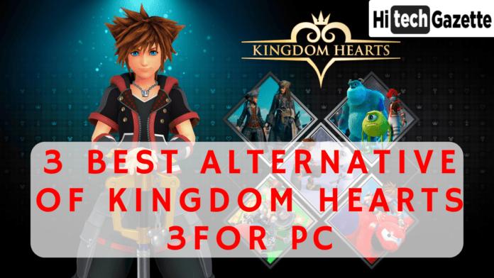 alternative of kingdom hearts 3