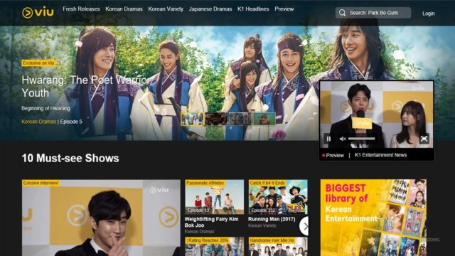 Viu App- Download Now to Enjoy Mind-Blowing TV Shows