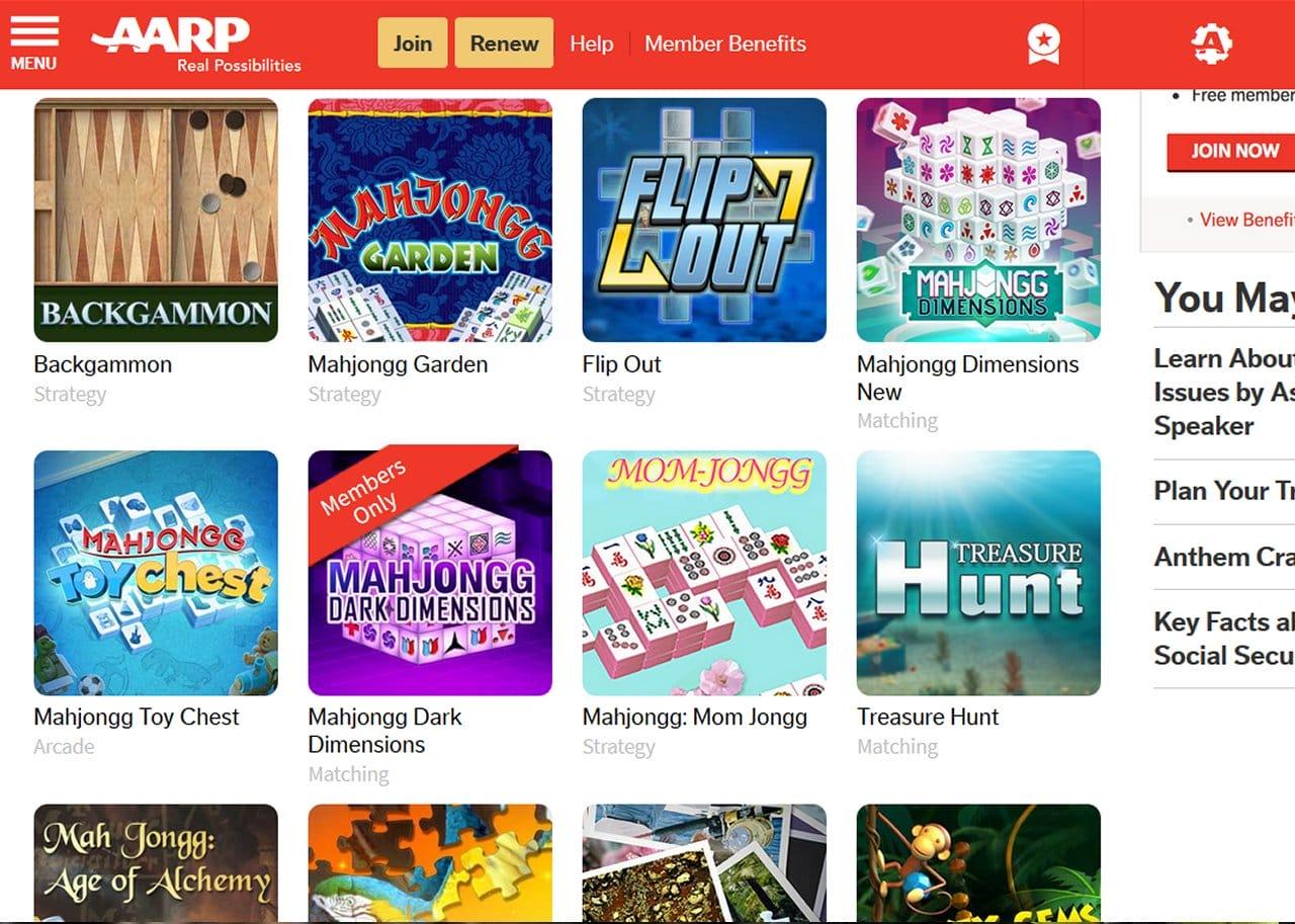 AARP Games