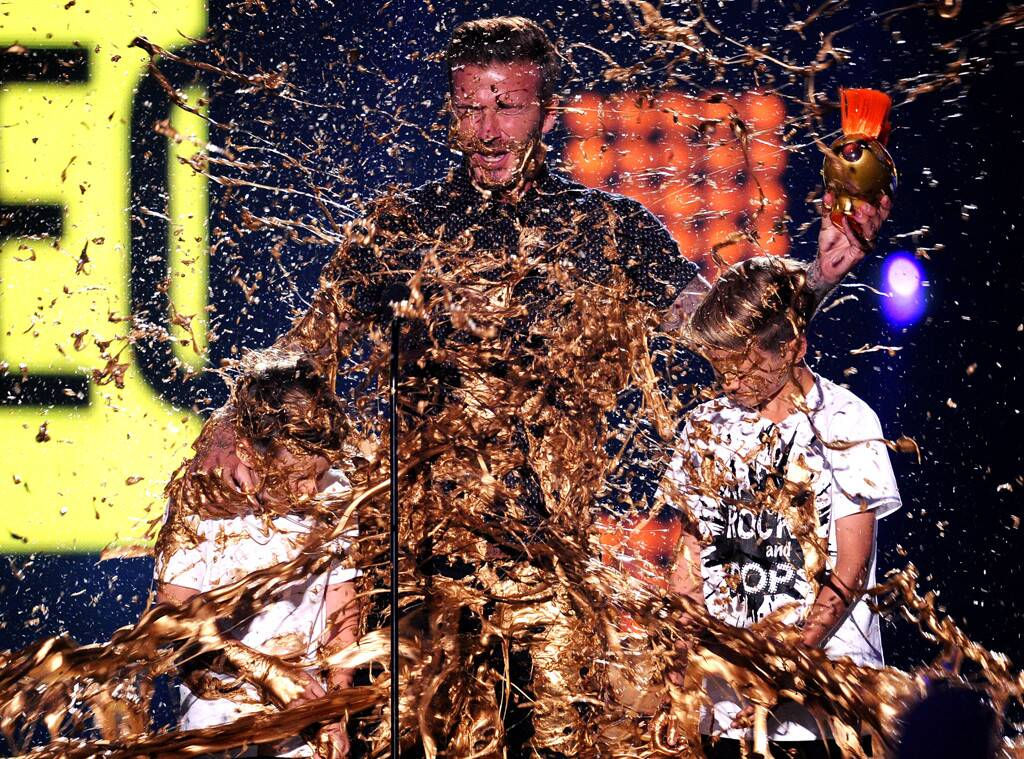 Nickelodeon slime golden