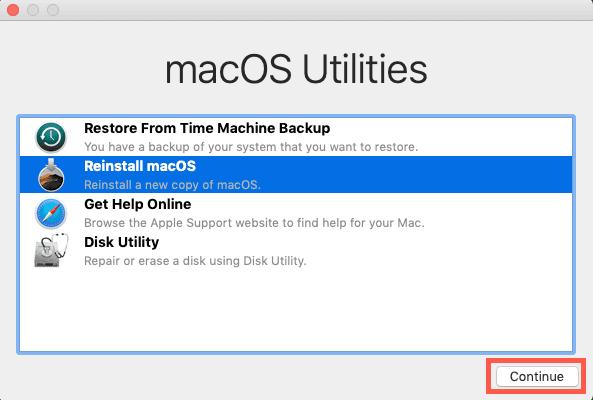 macOS Catalina Upgrade