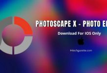 Photoscape X Photo Editing App