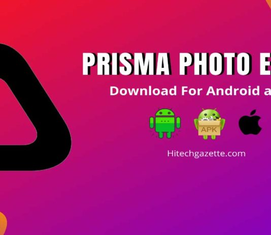 Prisma Photo Editing App