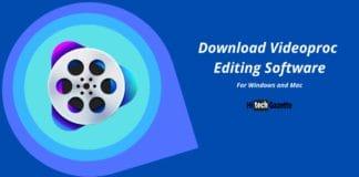 Videoproc Editing Software