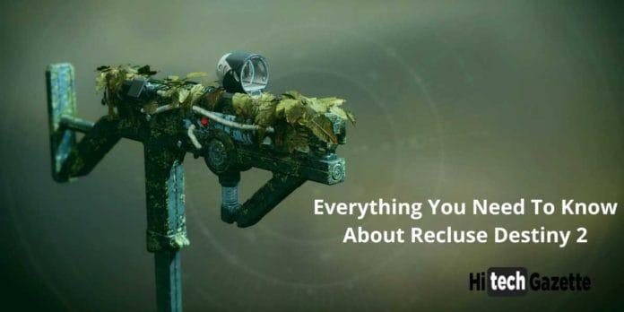 Recluse Destiny 2