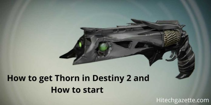 Thorn in Destiny 2