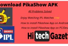 Pikashow IPL 2020