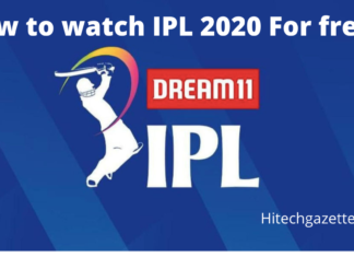 Watch IPL 2020 for free