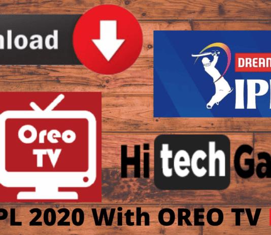 Oreo TV free IPL
