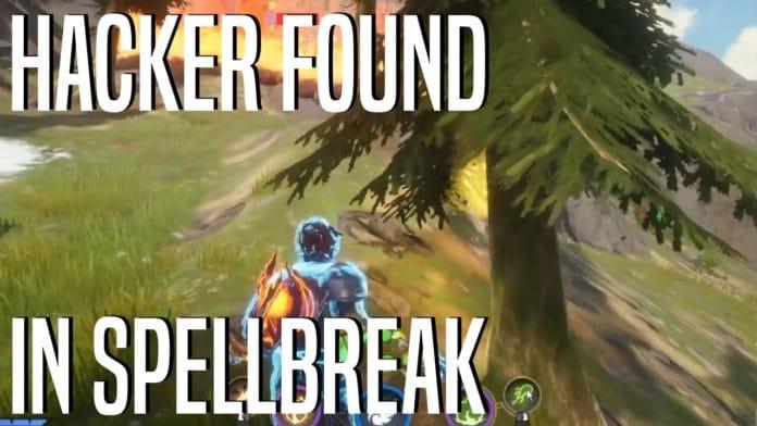 Hacker found in spellbreak