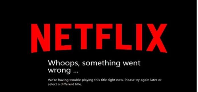 Netflix not loading