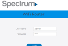 Spectrum Password Change