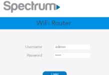Spectrum Password Change