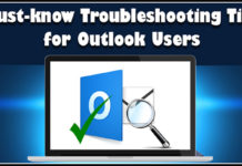 Troubleshooting tips for Outlook Problems